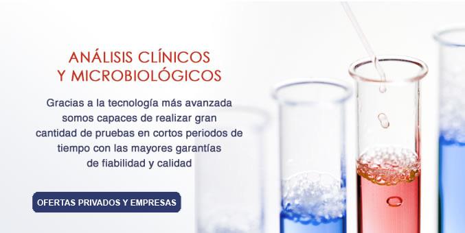 Anlisis clnicos y microbiolgicos.